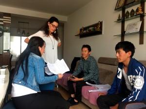 Tibet - Incontro con Sonam per la richiesta di una borsa di studio